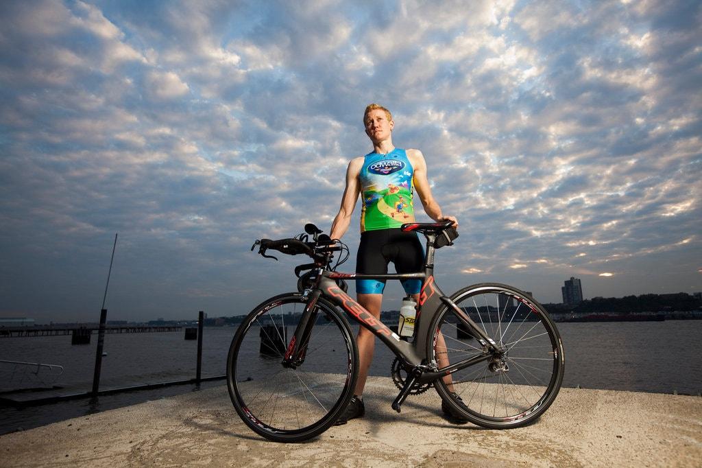 Транс*атлет Кріс Мозіер на відборі на Олімпійські ігри